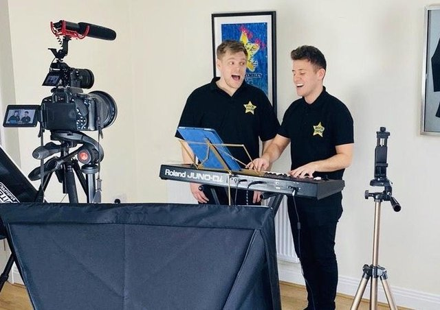 Online broadcast: Rock Choir leaders are delivering interactive rehearsals via Facebook.
