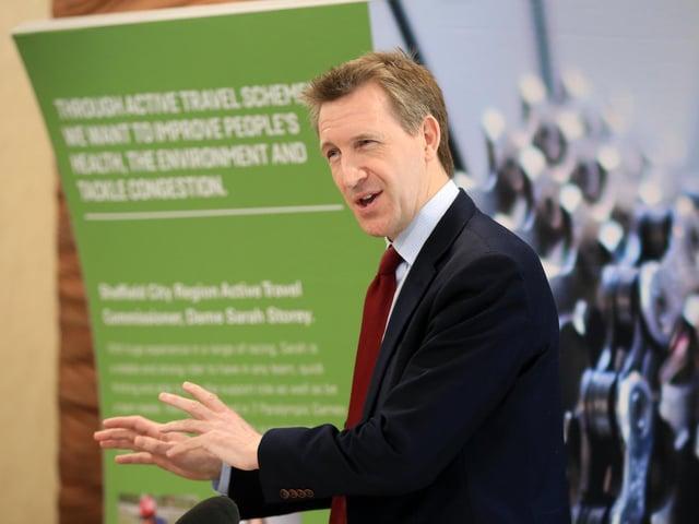 Sheffield City Region Mayor Dan Jarvis. Photo: JPI Media