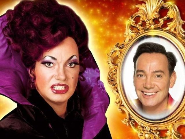 Craig Revel Horwood usually plays the Dame in Qdos shows