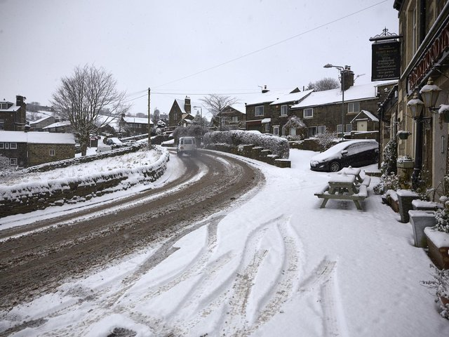 The Met Office has issued a weather warning