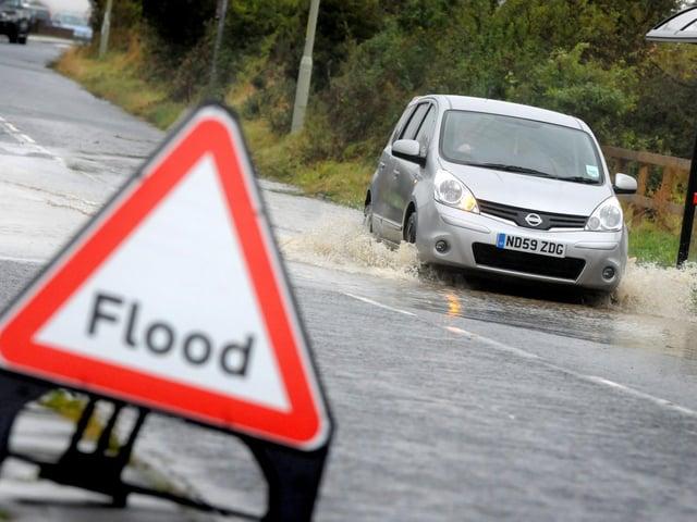 Flood alerts have been issued for Kirklees