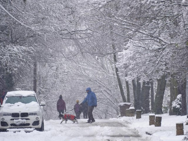 A three day snow and ice warning has been issued for Yorkshire next week, with traffic disruption and power cuts expected.