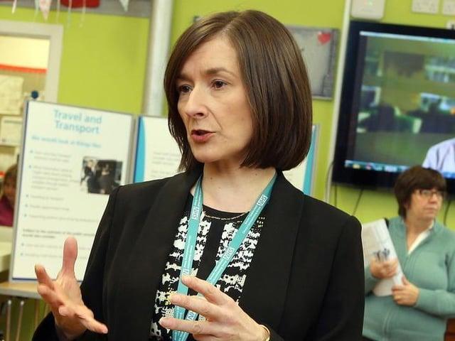 CCG Chief Officer Carol McKenna