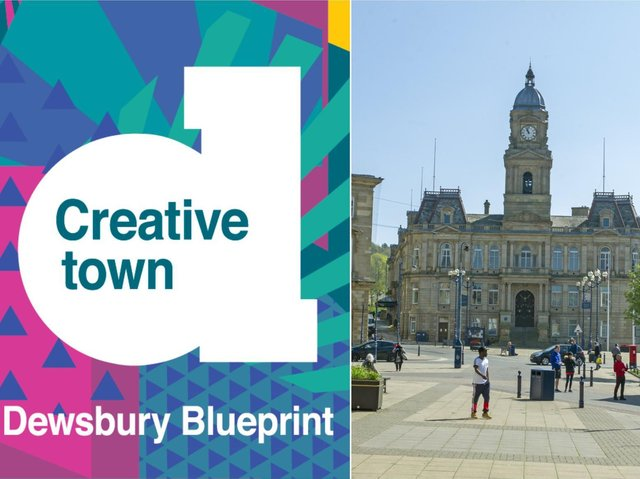 Dewsbury Creative Town Arts Programme has been launched