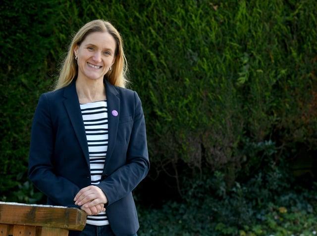 Kim Leadbeater, sister of the late Batley & Spen MP Jo Cox,