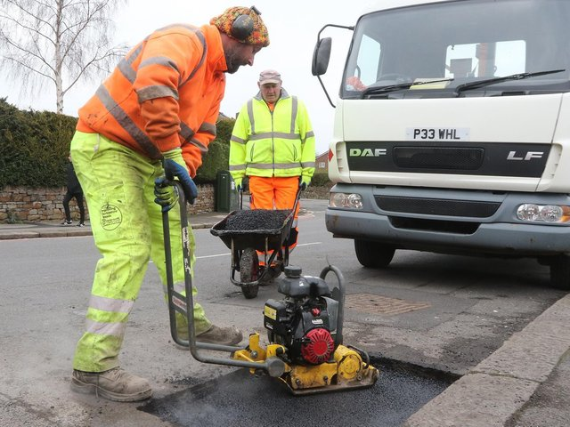 Kirklees Council is tackling its pothole problem