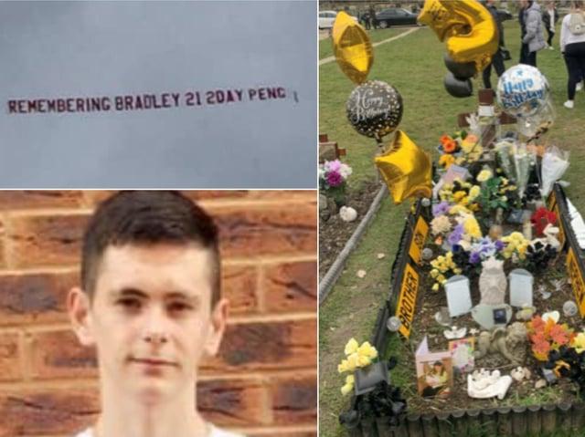 Tributes to Bradley Gledhill