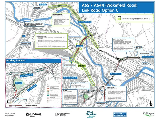 Plans for Cooper Bridge