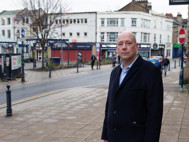Dewsbury MP Mark Eastwood