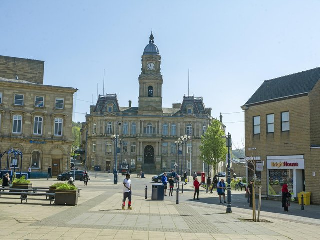 Lockdown one year on: Pictures show how Dewsbury emptied as restrictions were enforced