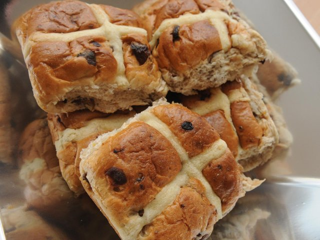 Hot cross buns are traditionally eaten on Good Friday