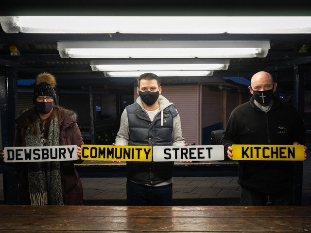 Number 1 Plates is supporting Dewsbury Community Street Kitchen