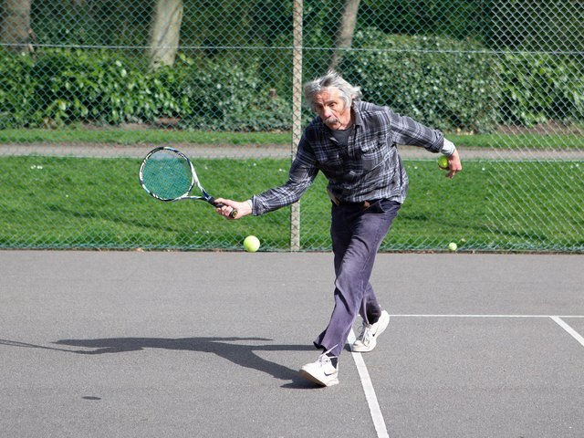 Tennis players back on the courts at Crow Nest Park, Dewsbury