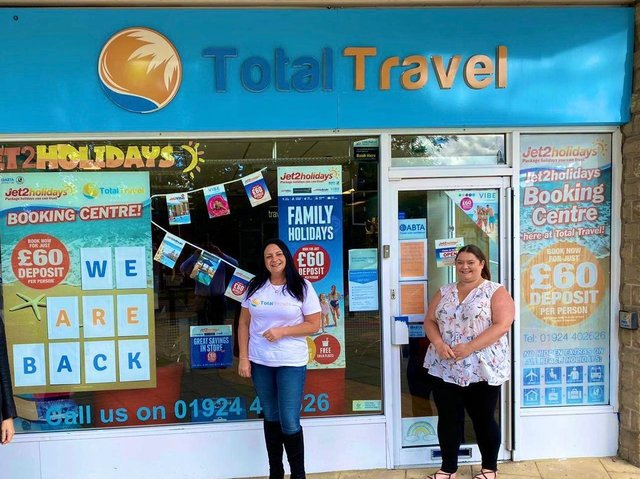 TOTAL TRAVEL: Getting ready to welcome customers back in.