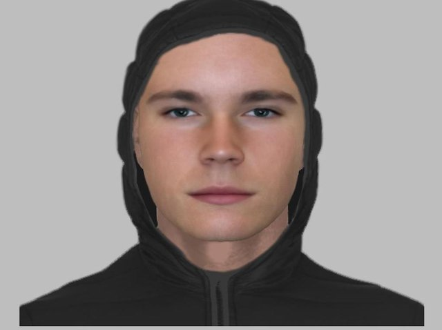 Police officers have released this efit