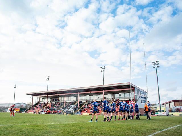 The Tetley's Stadium, Dewsbury. Picture: Allan McKenzie\SWpix.com.