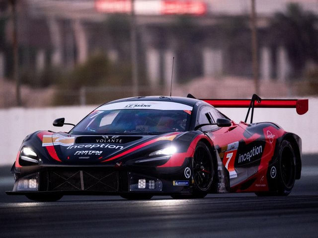 Inception Racing, who are competing in the European GT Championship.