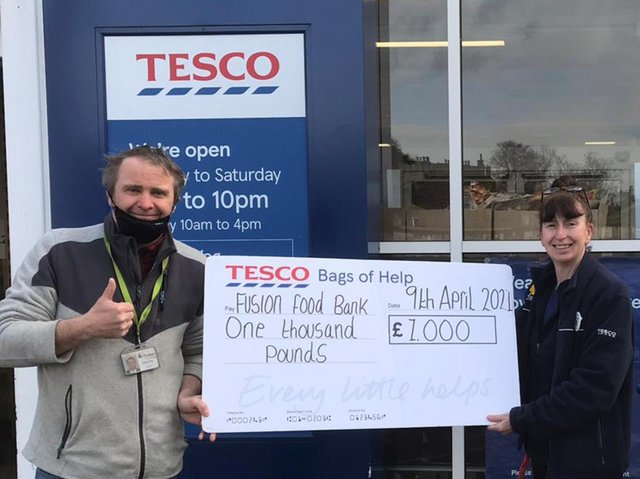 Cleckheaton Tesco hand out £3,000 of grants to good causes