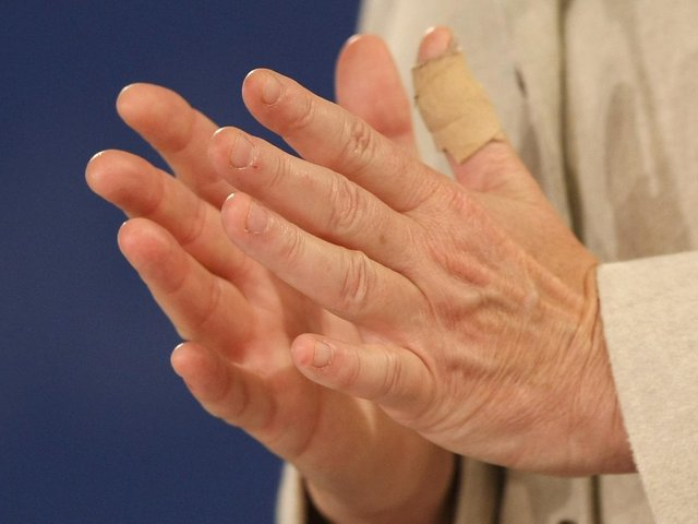 Take care with paper cuts. Photo: Getty Images