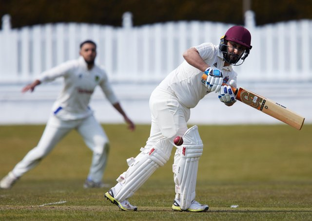 Batley's Kasir Maroof, who dug out some runs against Wrenthorpe. Picture: John Clifton