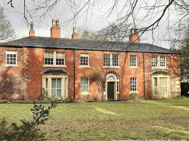 Red House, Gomersal. Photo: Red House Yorkshire Heritage Trust