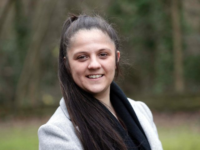 Tanisha Bramwell, who is standing as an independent candidate in Dewsbury West at the Kirklees Council elections