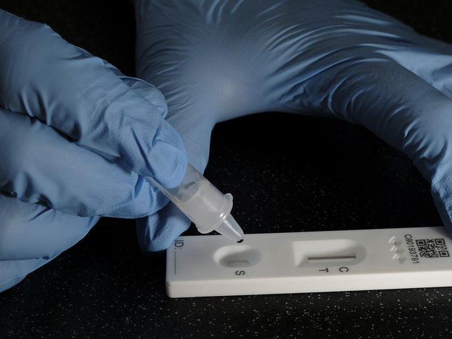 Getting a rapid lateral flow test is one of the ways to help reduce the level of Covid-19 infections in the community