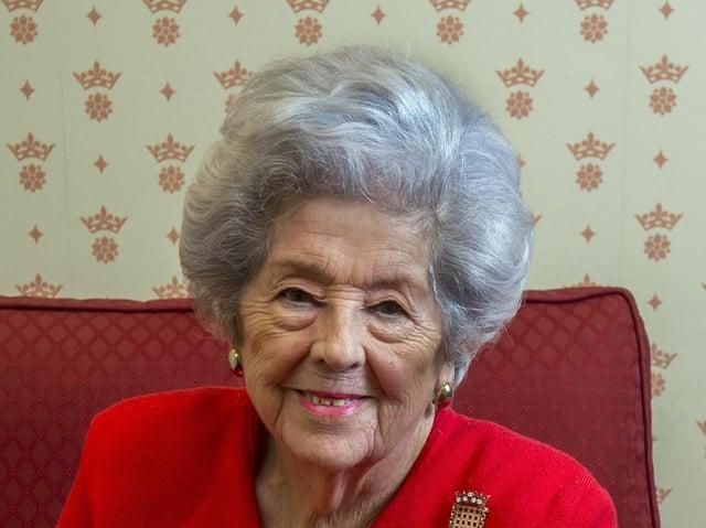 Baroness Betty Boothroyd, of Dewsbury