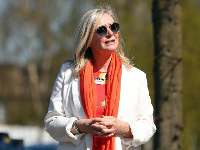 Tracy Brabin pictured in Ilkley. Pic by Getty Images