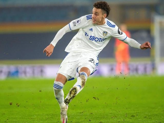 Rodrigo, who scored his first goal of 2021 when on target against Tottenham.