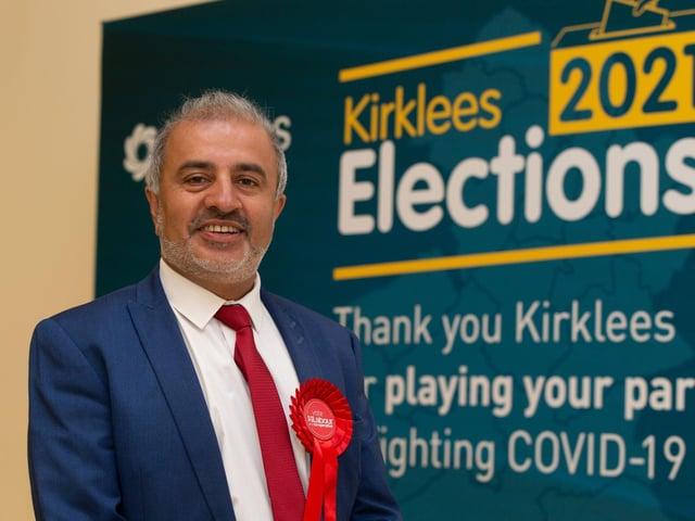 Council leader Shabir Pandor (Labour) has been re-elected in Batley West