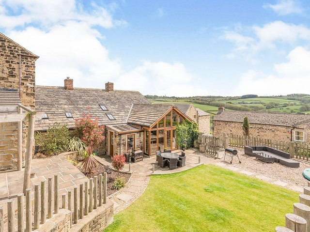 Glorious views around the West Yorkshire property