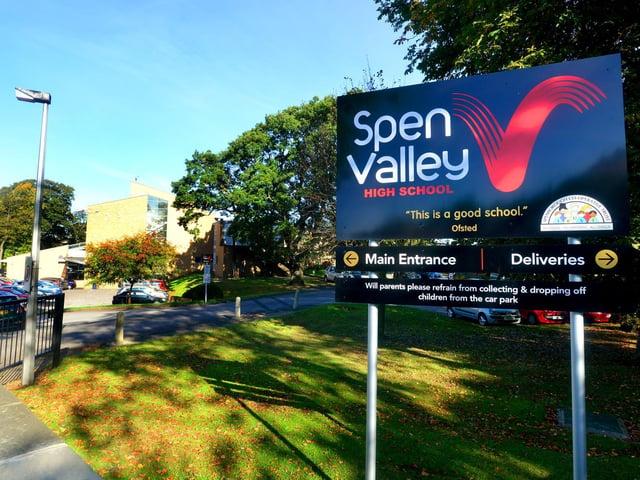 Spen Valley High School, Liversedge