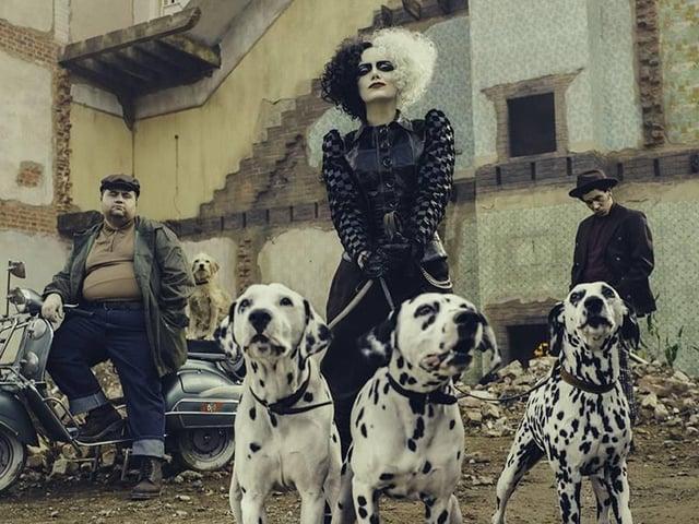 Emma Stone stars in Cruella