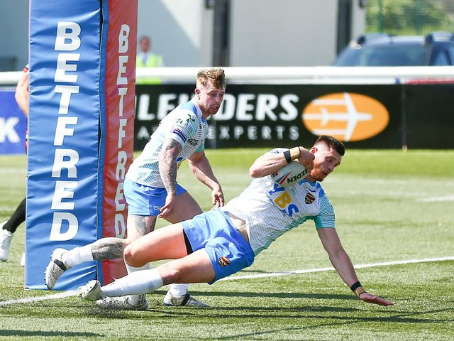 DEFEAT: London Broncos 30-10 Dewsbury Rams. Picture: Getty Images.