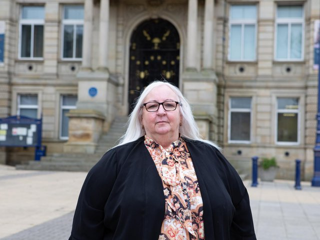 Coun Cathy Scott, newly elected deputy leader of Kirklees Council, says Dewsbury town centre can feel like a 'frightening place' for women