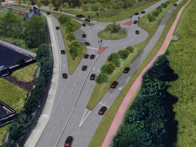 Plans for the Copper Bridge junction