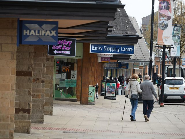 Batley town centre