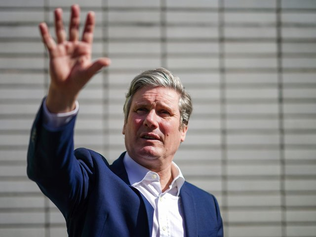 Labour Party leader Sir Keir Starmer will visit Batley and Spen on Thursday