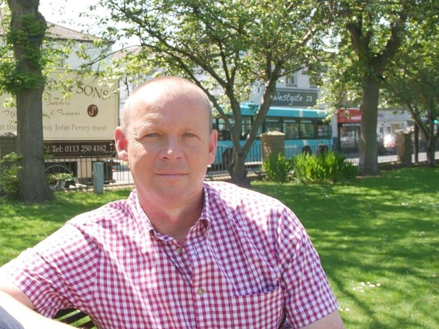Jonathan Tilt, the Freedom Alliance candidate in the Batley and Spen by-election