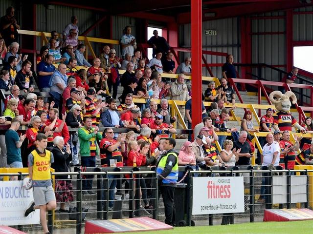 Dewsbury Rams fans.