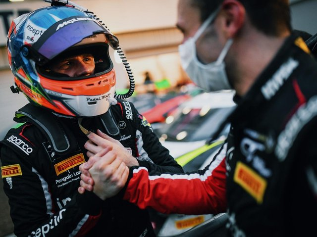 Brendan Iribe and Ollie Millroy team up once again in the Intelligent Money British GT Championship for the Silverstone 500.