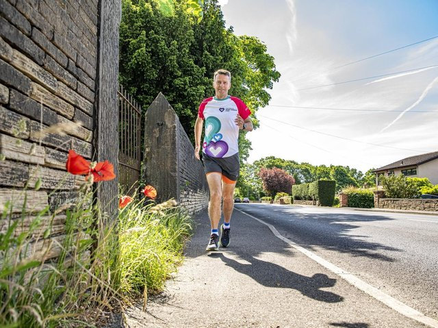 Paul Goodwin, 53, will be running a 100km ultramarathon in aid of the Children's Heart Surgery Fund, where he is chairman of trustees. Picture: Tony Johnson
