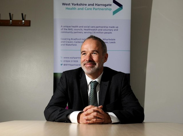 Rob Webster (CBE), CEO Lead for WY&H HCP