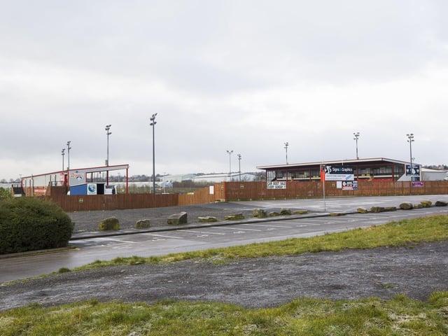 The Tetley's Stadium, home of Dewsbury Rams