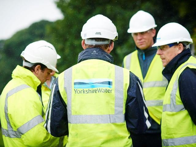 Yorkshire Water engineers