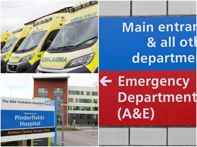 The trust reported record attendance levels in A&E across May and June.
