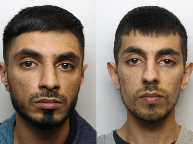 Suhail Hussain and his brother Aqib Hussain have been jailed