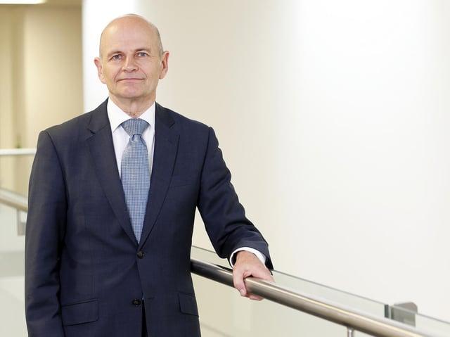 Trust chief executive Martin Barkley