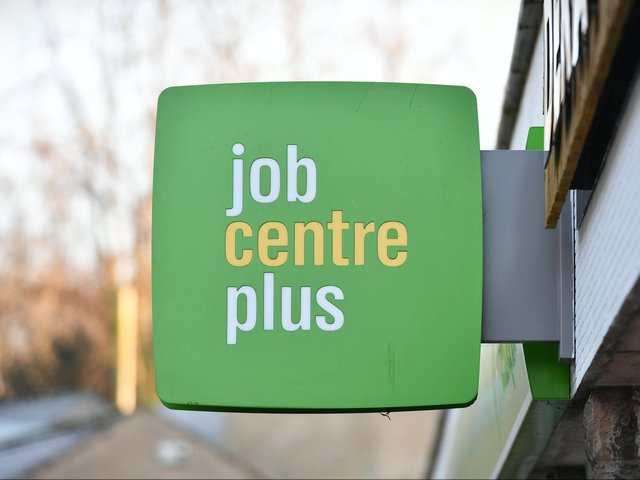 The new temporary Jobcentre in the Princess of Wales shopping centre in Dewsbury officially opened its doors to the public on Wednesday